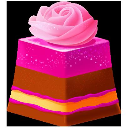Fancy Cakes: Merge Adventure messages sticker-4