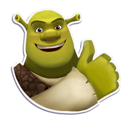 Shrek Sugar Fever messages sticker-9