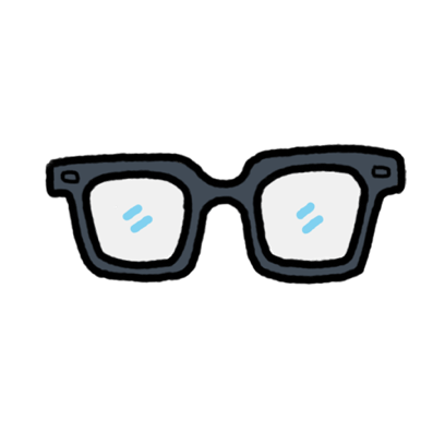 Glasses by Warby Parker messages sticker-5