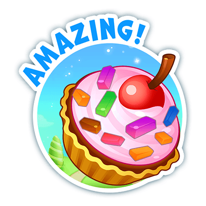 Candy Valley - Match 3 Puzzle messages sticker-5