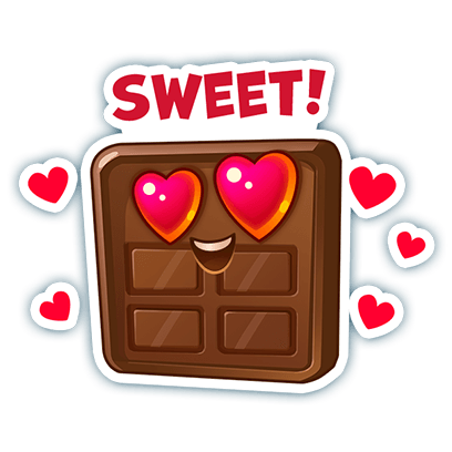 Candy Valley - Match 3 Puzzle messages sticker-9