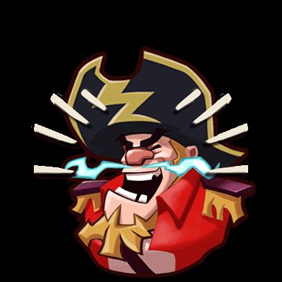 Pirates War: Dice Battle Arena messages sticker-2