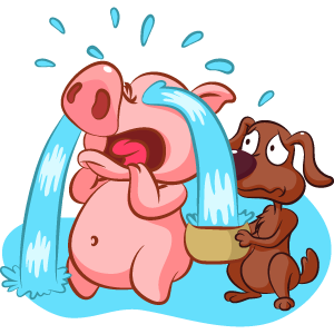Piggy Show messages sticker-1