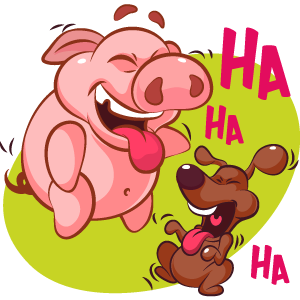 Piggy Show messages sticker-5