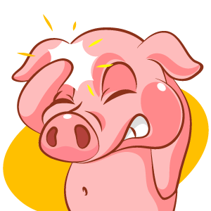 Piggy Show messages sticker-4