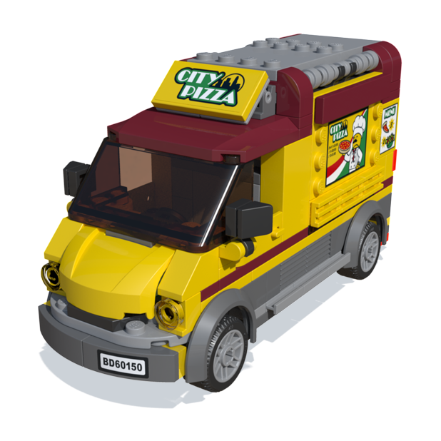 LEGO® City game messages sticker-4