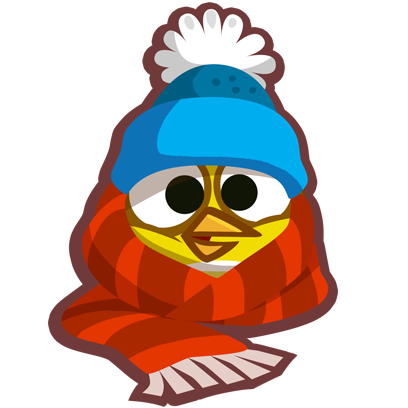 Angry Birds Blast messages sticker-1