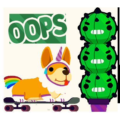 Corgi Pro Skater messages sticker-8