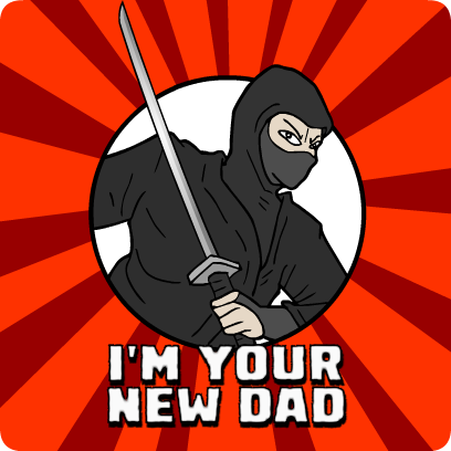 Ninja Stickers messages sticker-2