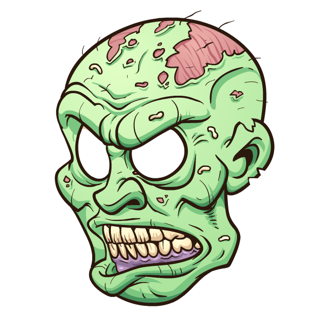 Zombie Stickers messages sticker-8