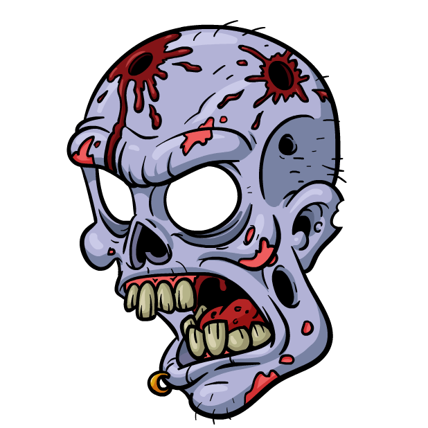 Zombie Stickers messages sticker-6
