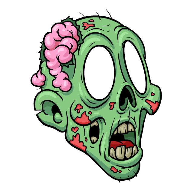 Zombie Stickers messages sticker-7