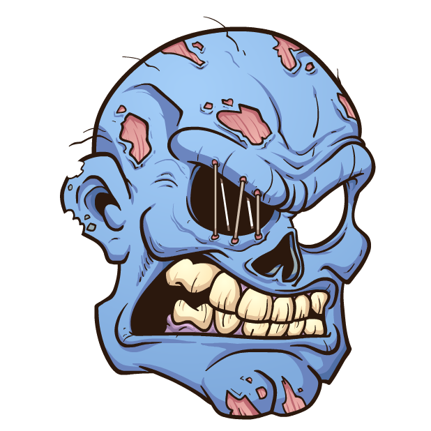 Zombie Stickers messages sticker-11