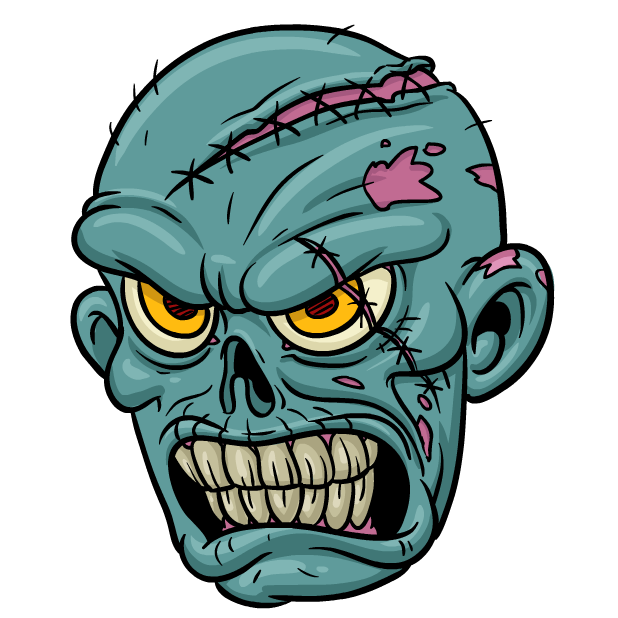 Zombie Stickers messages sticker-5