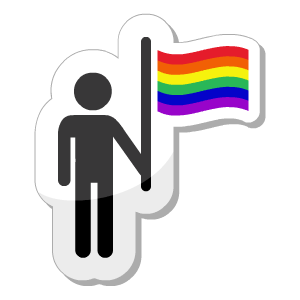Gay Pride Stickers messages sticker-8