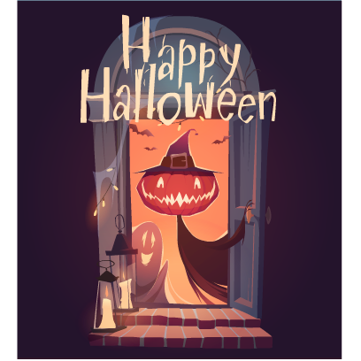 Happy Halloween Stickers messages sticker-1