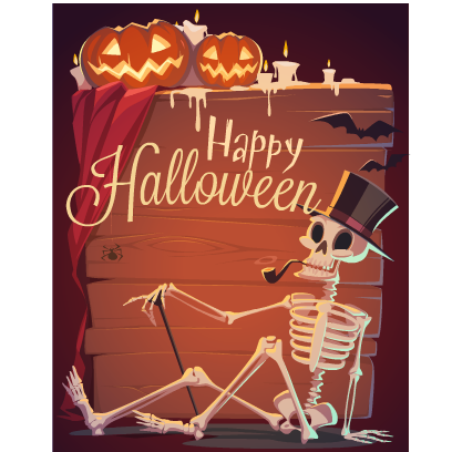 Happy Halloween Stickers messages sticker-2