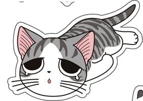 Human to Cat Translator messages sticker-7