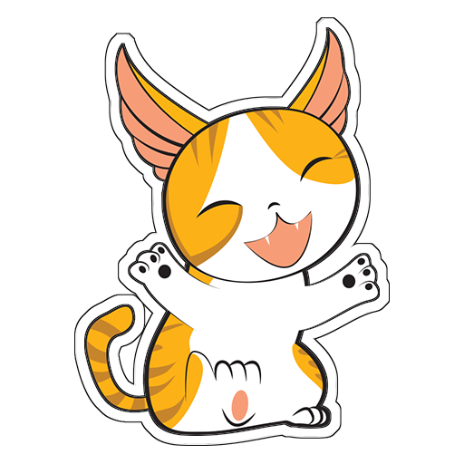 Human to Cat Translator messages sticker-6