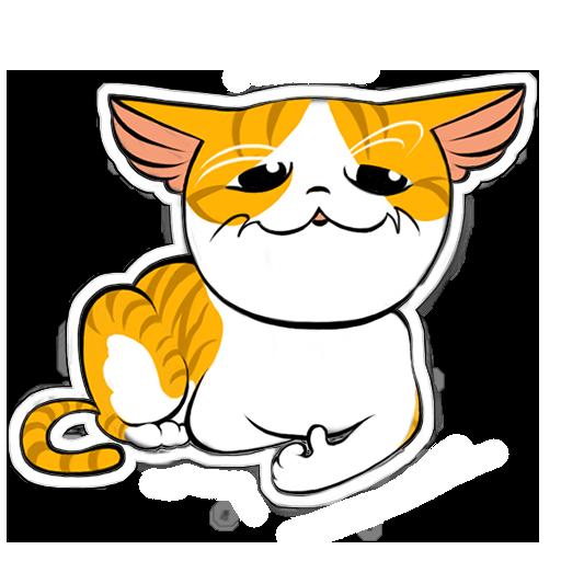 Human to Cat Translator messages sticker-0