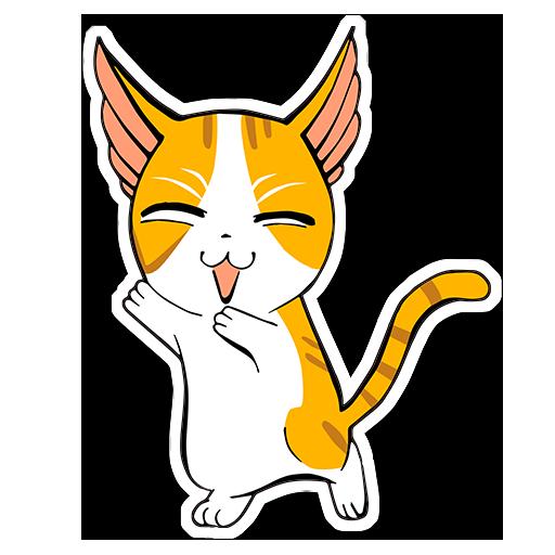 Human to Cat Translator messages sticker-4