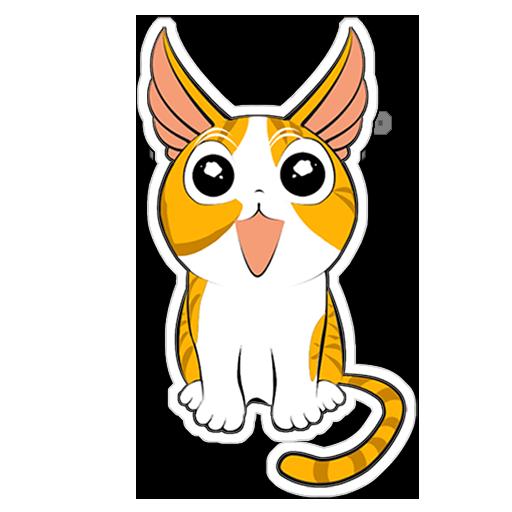 Human to Cat Translator messages sticker-5