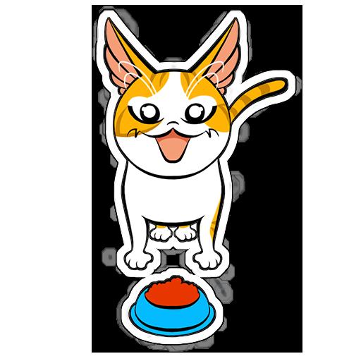 Human to Cat Translator messages sticker-11