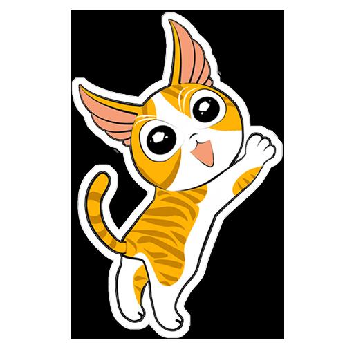 Human to Cat Translator messages sticker-3
