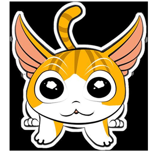 Human to Cat Translator messages sticker-9