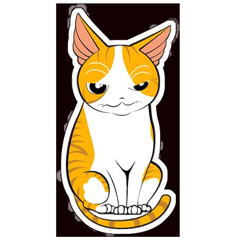 Human to Cat Translator messages sticker-10