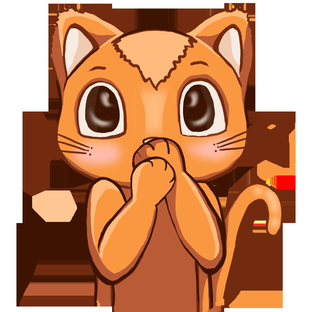 Human to Cat Translator messages sticker-1