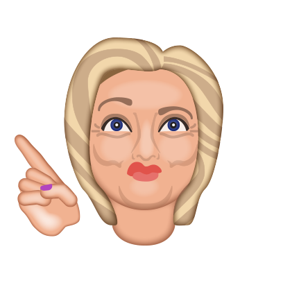 Hillarymoji messages sticker-7