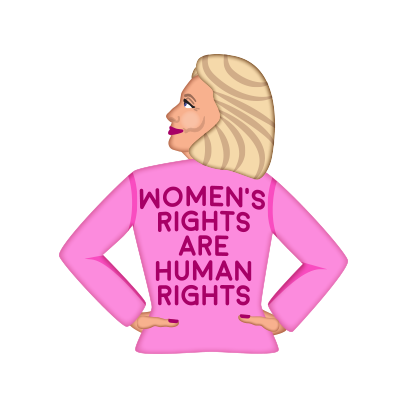 Hillarymoji messages sticker-10