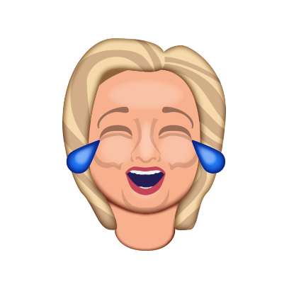 Hillarymoji messages sticker-2