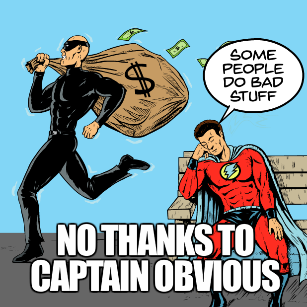 Captain Obvious Stickers messages sticker-4