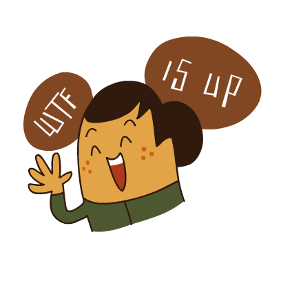 WTF Stickers messages sticker-8
