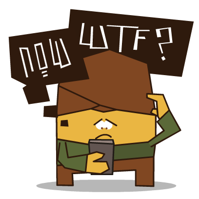 WTF Stickers messages sticker-2