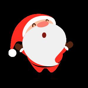 Santa Stickers messages sticker-3