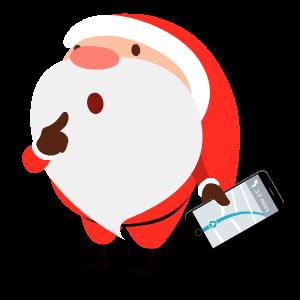 Santa Stickers messages sticker-6