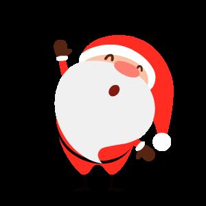 Santa Stickers messages sticker-7