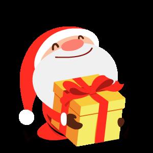 Santa Stickers messages sticker-2
