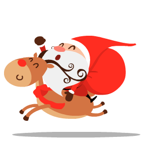 Santa Stickers messages sticker-8
