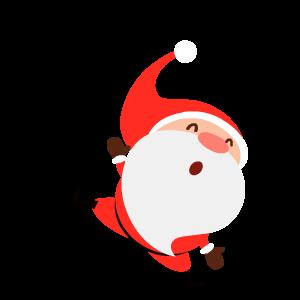 Santa Stickers messages sticker-1