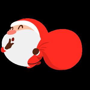 Santa Stickers messages sticker-0