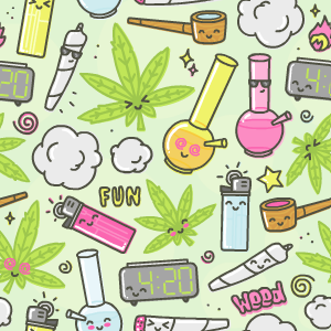 420 Stickers messages sticker-8
