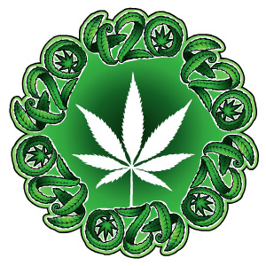420 Stickers messages sticker-0