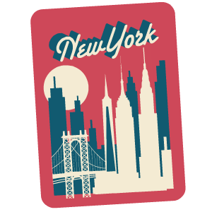 New York City Stickers messages sticker-6