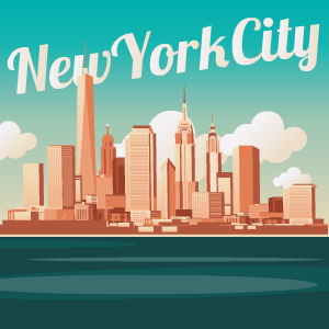 New York City Stickers messages sticker-0