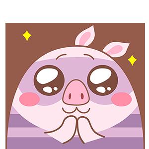 Piggy Boom messages sticker-3