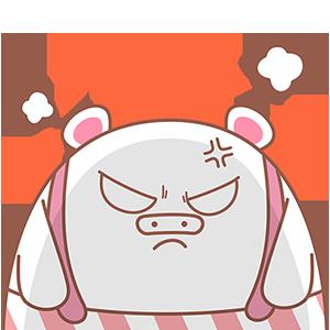 Piggy Boom messages sticker-5